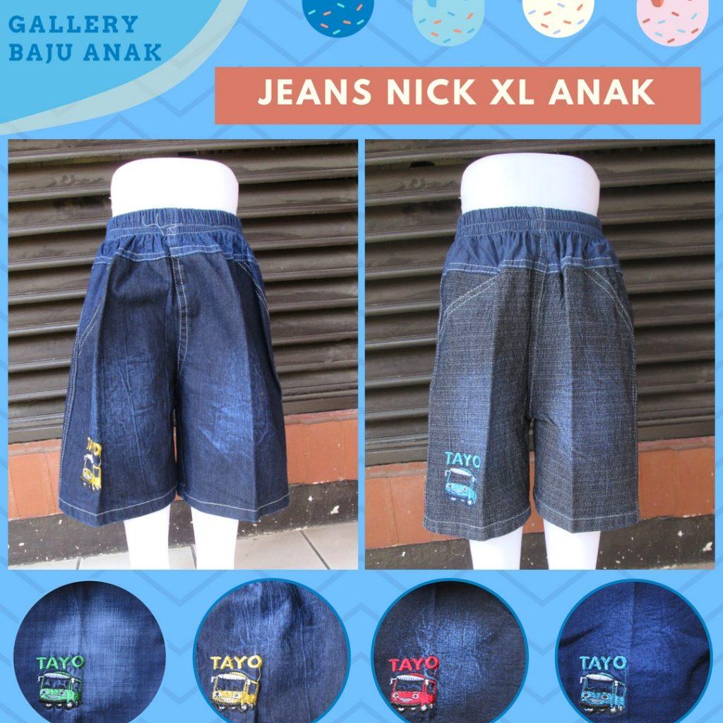 Grosiran Murah di Bandung Pusat Grosir Celana Jeans Nick XL Anak Laki Laki Murah di Bandung Rp.19.500