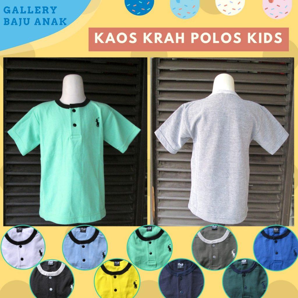 Grosiran Murah di Bandung Sentra Grosir Kaos Kerah Polo Kids Murah di Bandung 15Ribu
