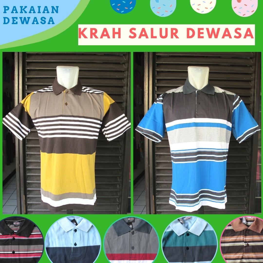 Grosiran Murah di Bandung Sentra Grosir Kaos Krah Dewasa Murah di Bandung Rp.24.500