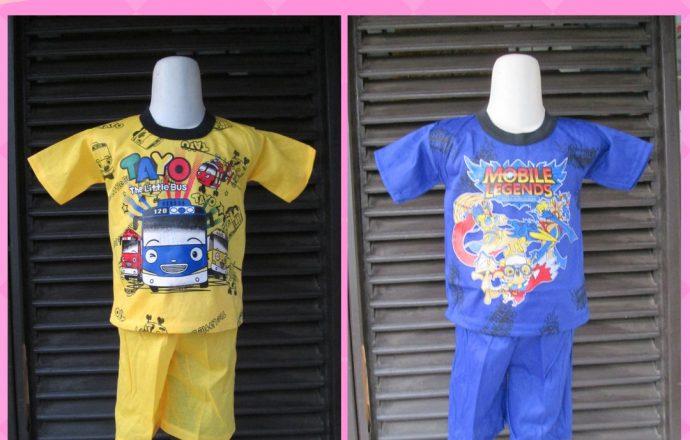 Grosiran Murah di Bandung Grosir Setelan Anak Kartakter Murah di Bandung Mulai 9000an