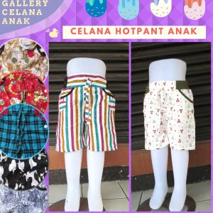 Grosiran Celana Hotpant Anak Terbaru Murah di Bandung