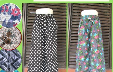 Grosiran Murah di Bandung Grosir Celana Kulot Linen Lelang Wanita Dewasa Murah di Bandung 28Ribu
