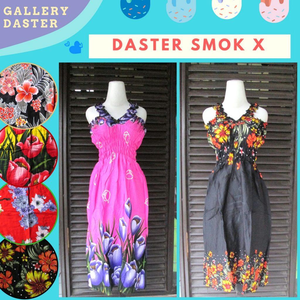 Grosiran Murah di Bandung Pusat Grosir Daster Smok Wanita Dewasa Murah di Bandung Rp.25.500