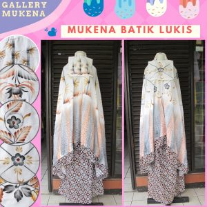 GROSIR PAKAIAN MURAH ONLINE DI BANDUNG Grosir Mukena Batik Lukis Dewasa termurah di Bandung