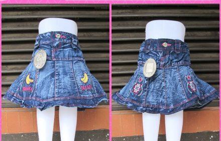 Grosiran Murah di Bandung Reseller Rok Jeans Anak Perempuan Terbaru Murah di Bandung 18Ribu