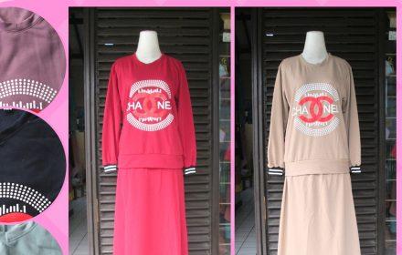 Grosiran Murah di Bandung Supplier Setelan Rok Casual Wanita Dewasa Murah di Bandung 70Ribu