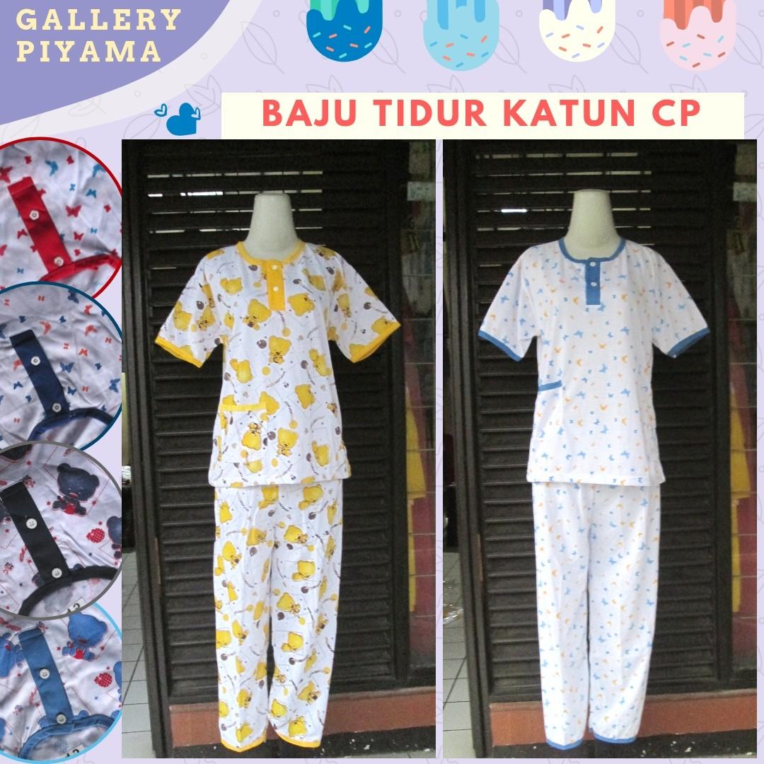 Grosiran Murah di Bandung Pusat Grosir Baju Tidur Katun Perempuan Celana Panjang Murah di Bandung 31Ribu