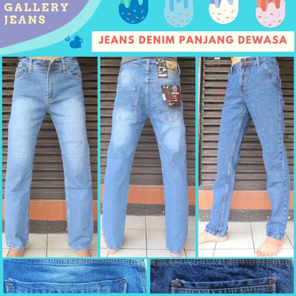 Supplier Celana Jeans Denim Panjang Pria Dewasa Murah di Bandung