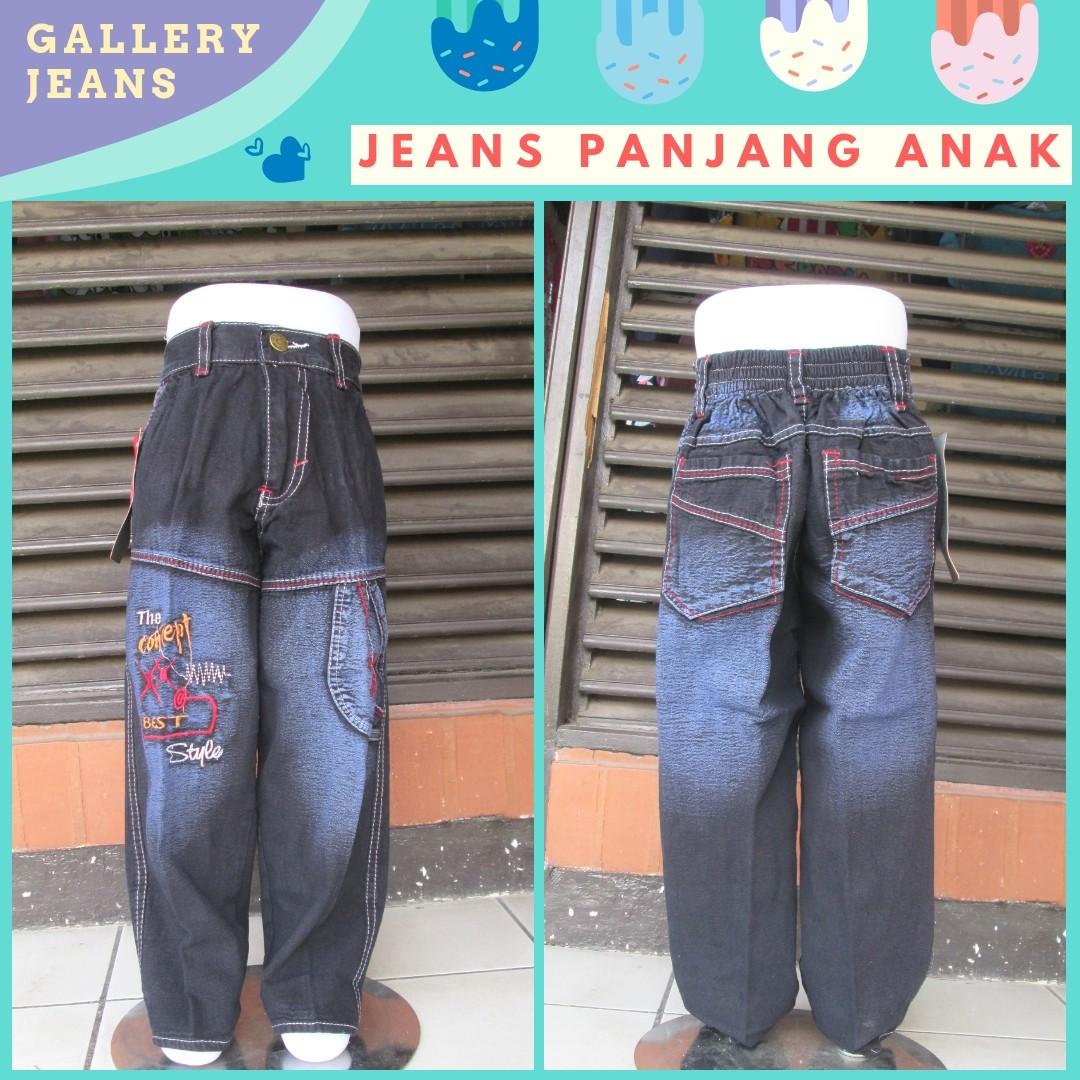 Grosiran Murah di Bandung Supplier Celana Jeans Panjang Anak Terbaru Murah di Bandung Rp.25.500
