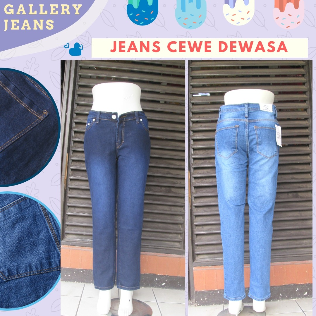 GROSIR PAKAIAN MURAH ONLINE DI BANDUNG Produsen Celana Jeans Prada Wanita Dewasa Murah di Bandung 56Ribu