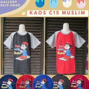 Produsen Kaos C15 Muslim Anak Laki Laki Murah