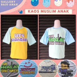 Pabrik Kaos Muslim Anak Karakter Murah di Bandung