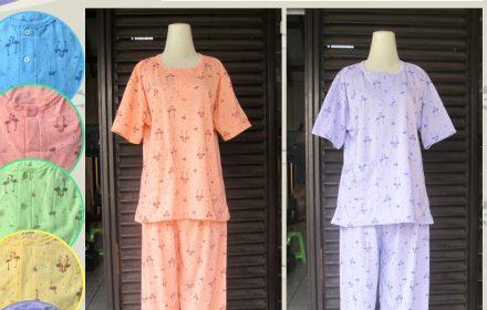 Grosiran Murah di Bandung Produsen Baju Tidur Katun CP Jumbo Dewasa Termurah diBandung Rp.32.500