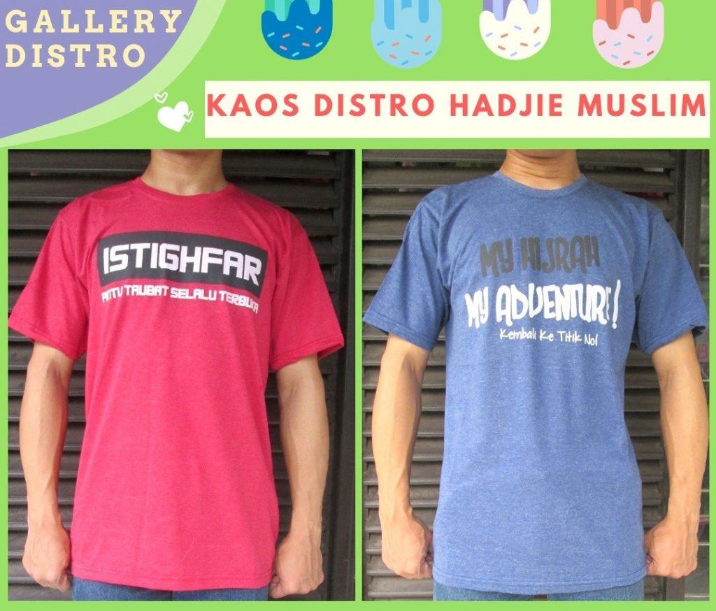 Grosiran Murah di Bandung Supplier Kaos Distro Hadjie Muslim Dewasa Termurah di Bandung 25Ribu