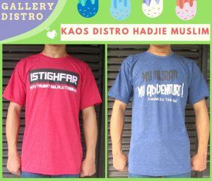 Produsen Kaos Distro Hadjie Muslim Dewasa Murah di Bandung