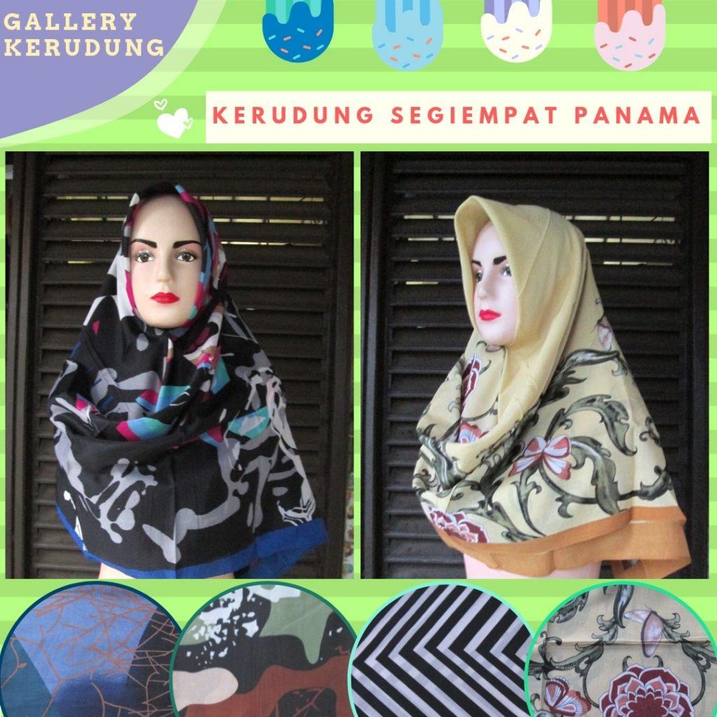 Grosiran Murah di Bandung Produsen Kerudung Segiempat Motif Terbaru Murah di Bandung 18Ribuan