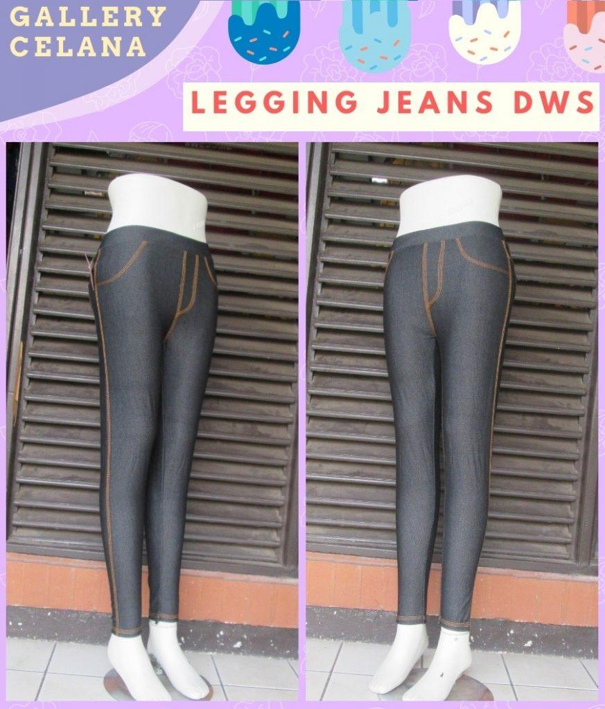 Grosiran Murah di Bandung Distributor Celana Legging Jeans Dewasa Murah di Bandung 28Ribu