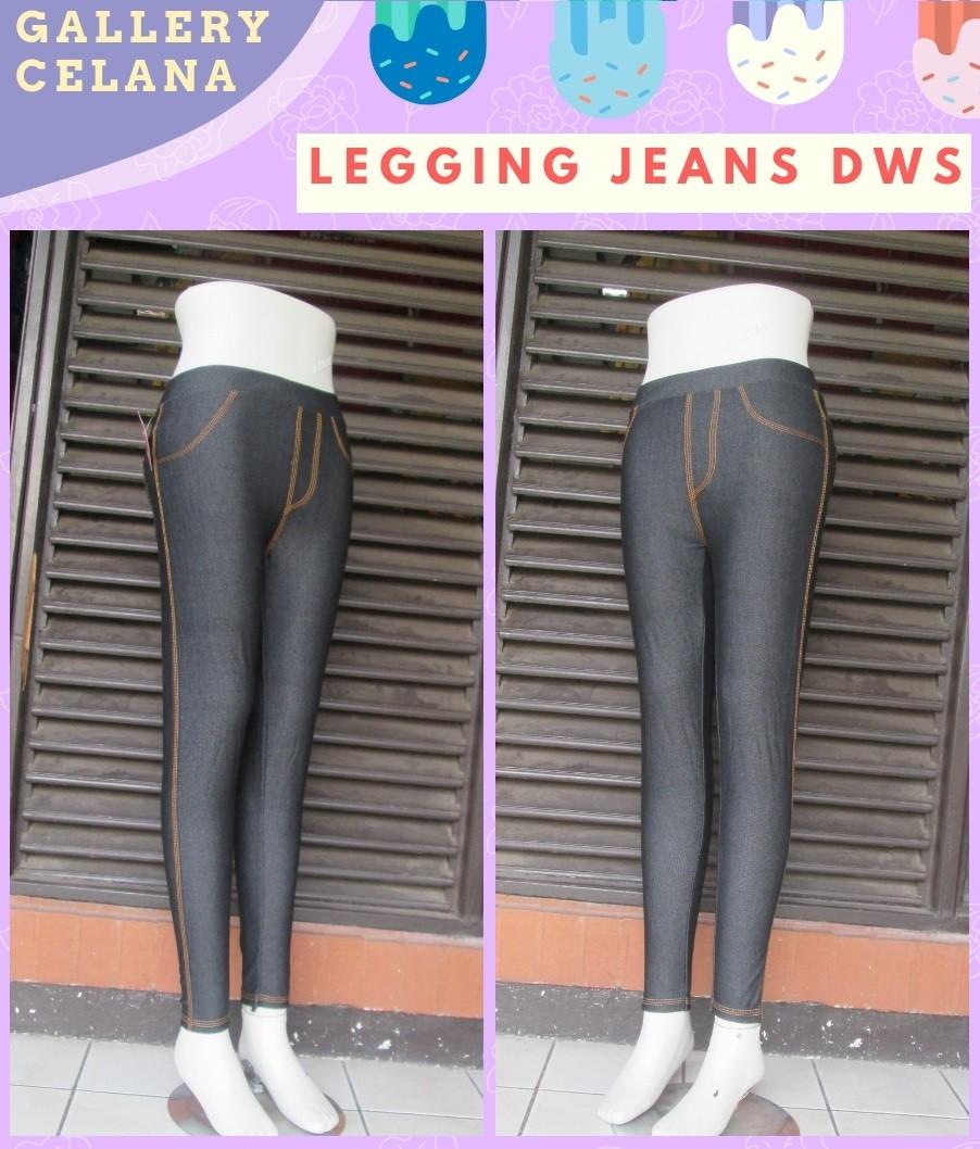 GROSIR PAKAIAN MURAH ONLINE DI BANDUNG Distributor Celana Legging Jeans Dewasa Murah di Bandung 28Ribu