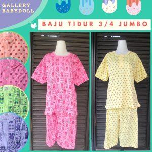 Konveksi Baju Tidur Katun 34/ Jumbo Murah di Bandung