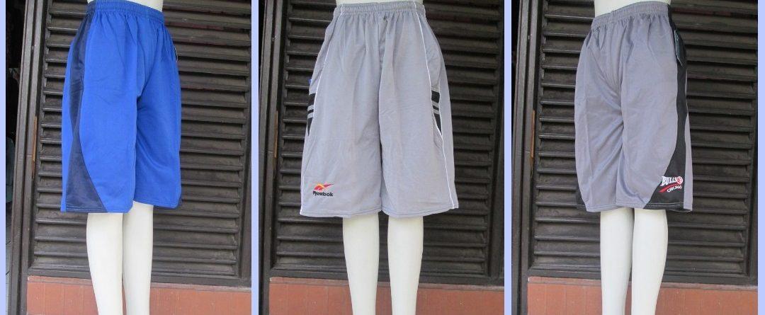 Grosiran Murah di Bandung Supplier Celana Kolor Basket Pria Dewasa Sporty Murah di Bandung Rp.20.500