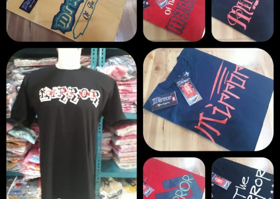 Grosiran Murah di Bandung Pusat Grosir Kaos Distro Mirror Brand Dewasa Termurah di Bandung 34Ribuan