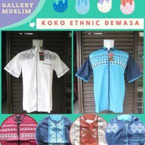GROSIR PAKAIAN MURAH ONLINE DI BANDUNG Grosiran Baju Koko Etnik Dewasa Murah di Bandung