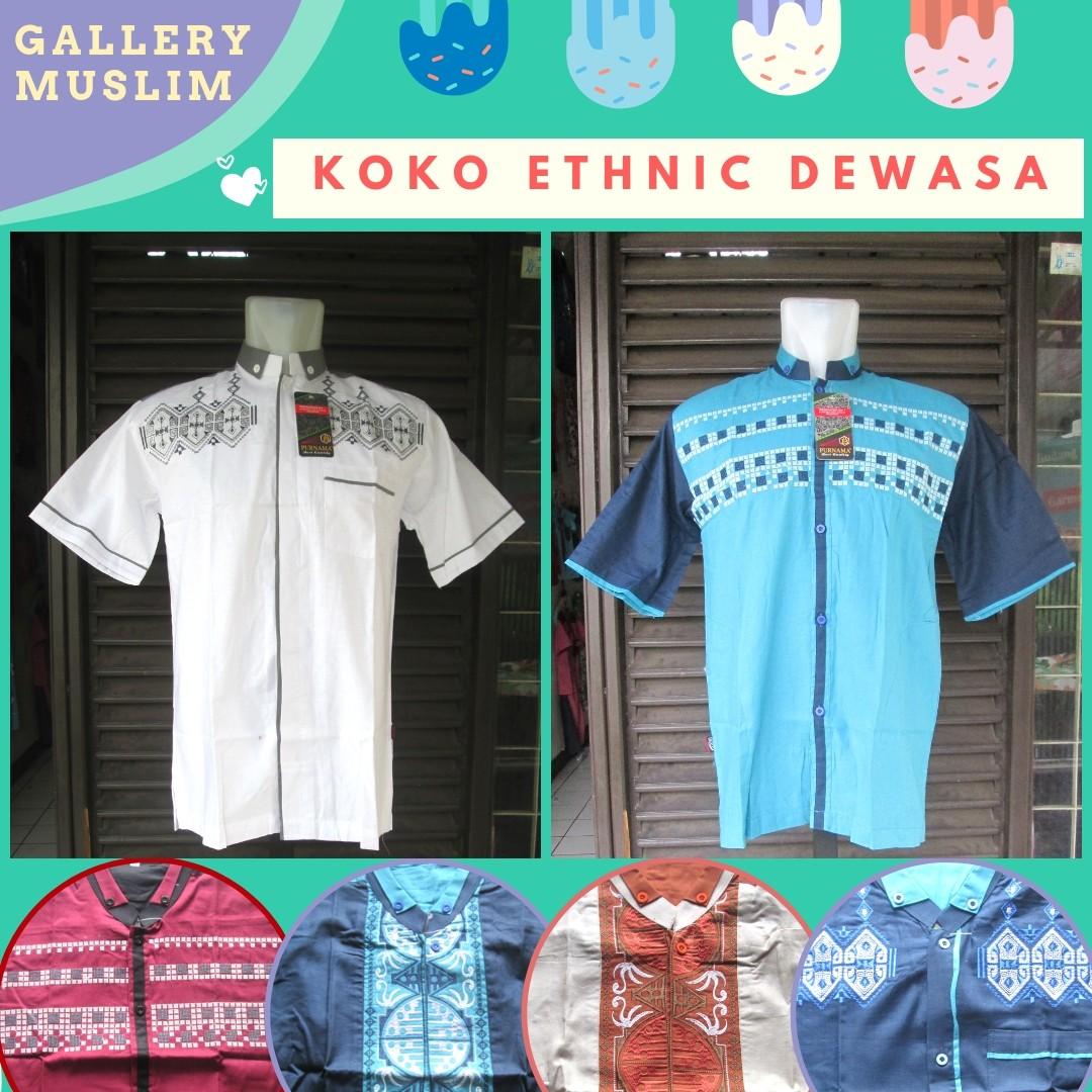 GROSIR PAKAIAN MURAH ONLINE DI BANDUNG Produsen Baju Koko Etnik Pria Dewasa Terbaru Murah di Bandung 66Ribuan