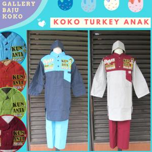 Produsen BajuKoko Turkey Anak Laki Laki Murah di Bandung