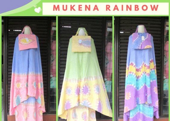 Grosiran Murah di Bandung Distributor Mukena Pelangi Dewasa Murah di Bandung Only 78Ribuan