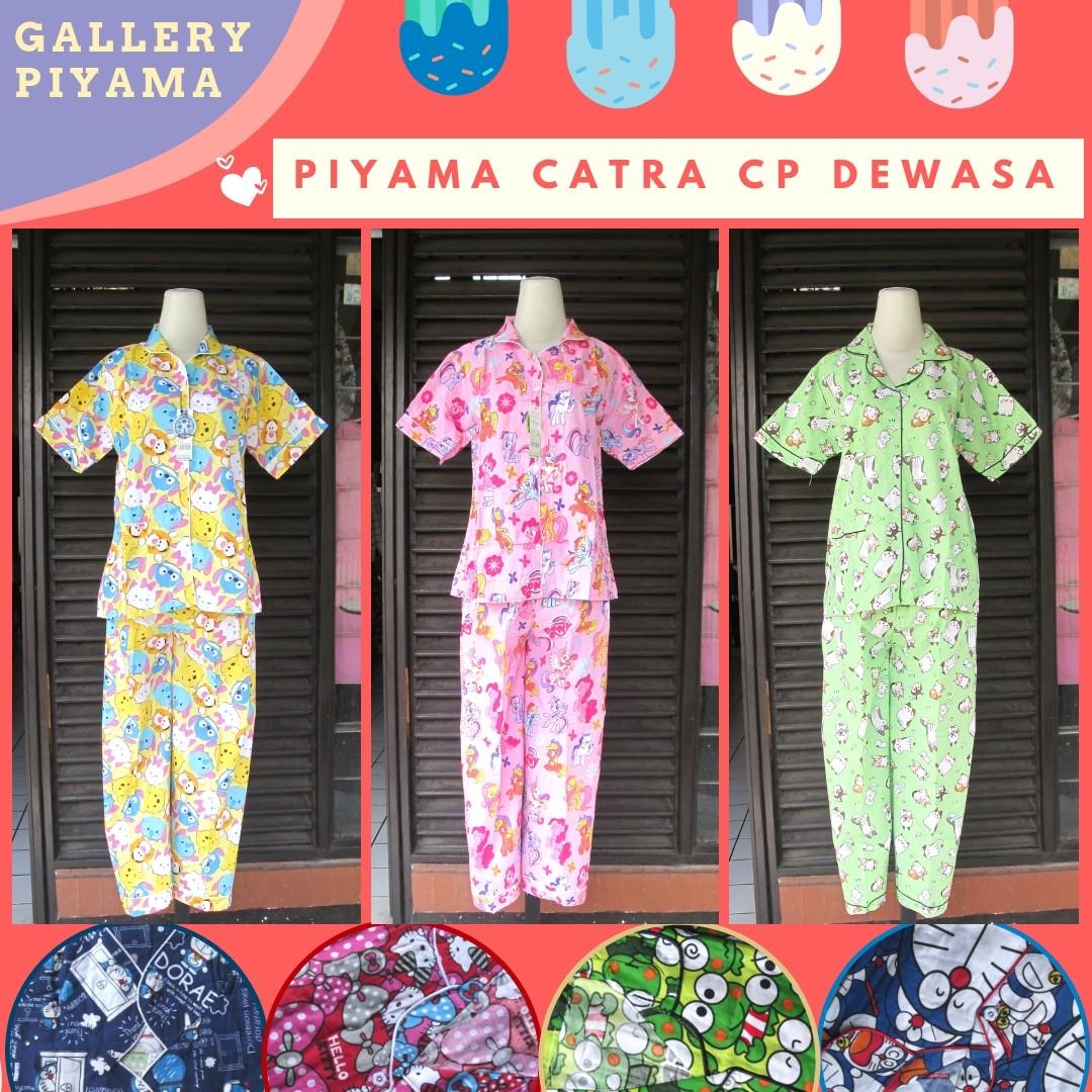 GROSIR PAKAIAN MURAH ONLINE DI BANDUNG Distributor Piyama Catra Celana Panjang Termurah di Bandung 51Ribuan