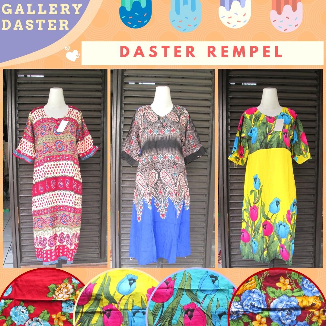 Grosiran Murah di Bandung Distributor Daster Rempel Dewasa Motif Baru Murah di Bandung 30Ribu