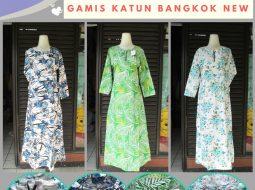 Grosiran Murah di Bandung Grosiran Gamis Katun Bangkok New Dewasa Murah di Bandung 43Ribuan