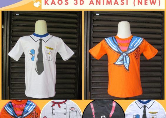 Grosiran Murah di Bandung Produsen Kaos 3D Profesi Anak Terbaru Murah di Bandung 16Ribuan