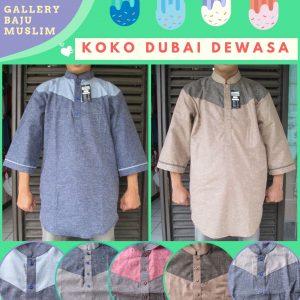 Distributor Baju Koko Dubai Dewasa Terbaru Murah