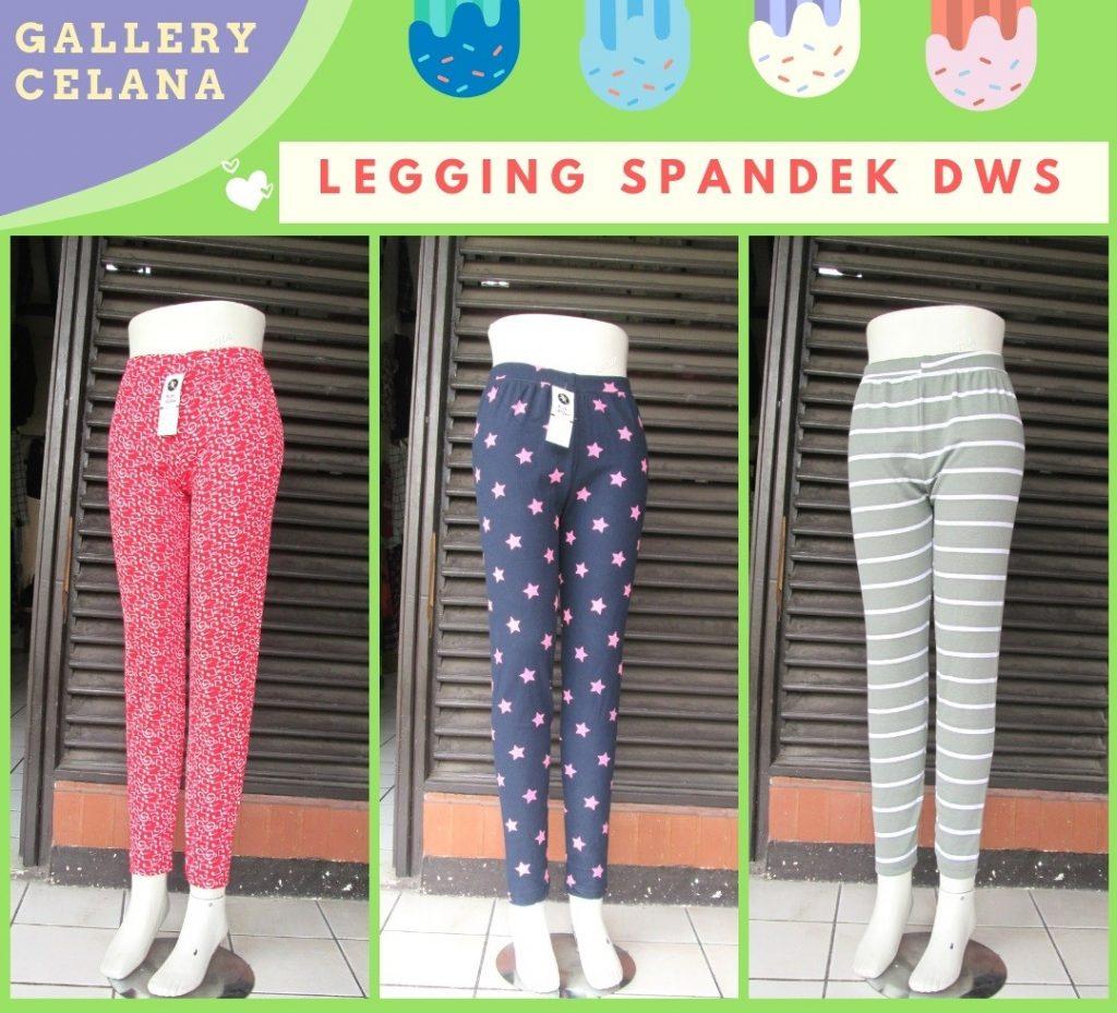 Grosiran Murah di Bandung Supplier Celana Legging Spandek Dewasa Termurah di Bandung Hanya 18Ribuan