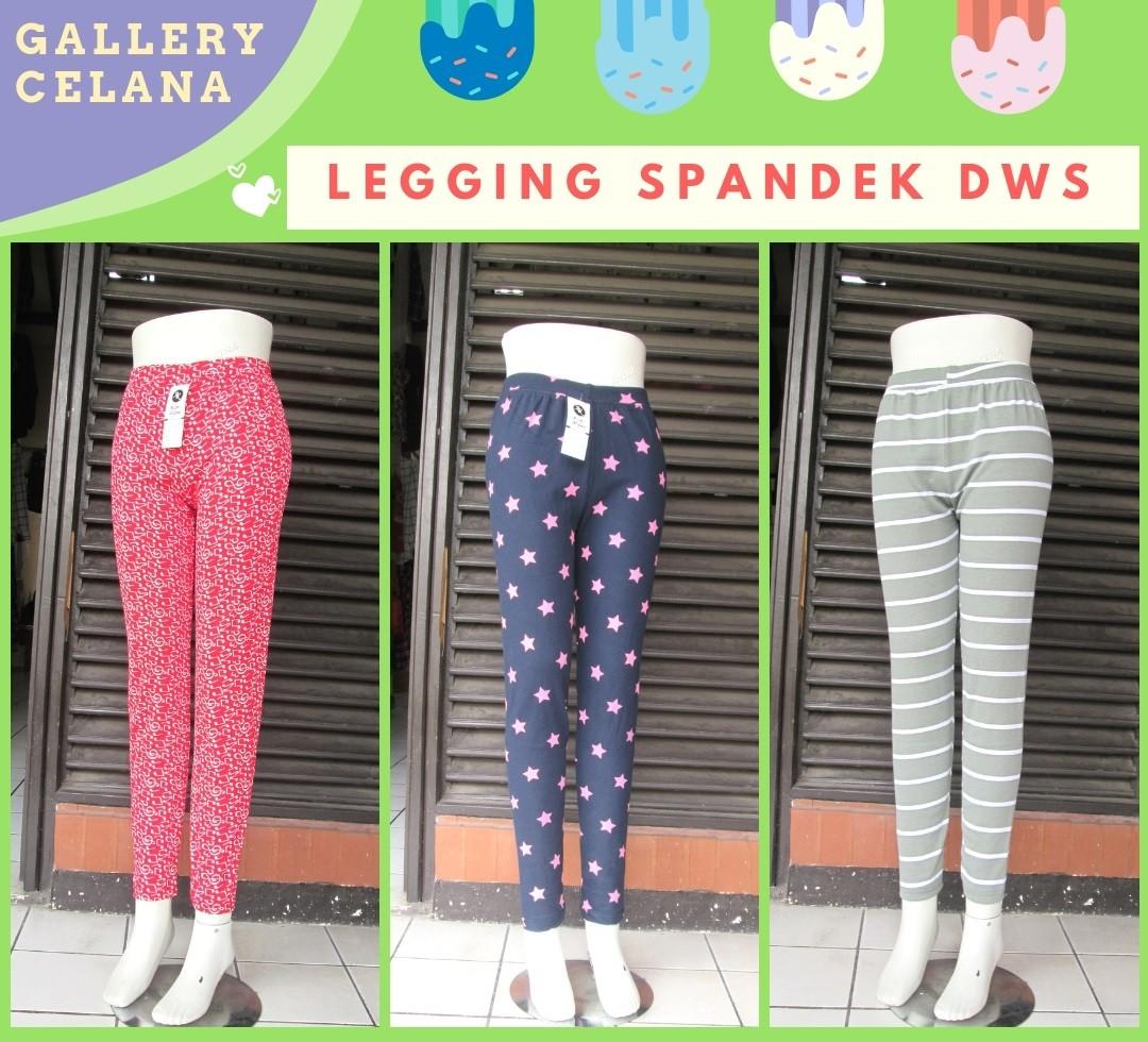 GROSIR PAKAIAN MURAH ONLINE DI BANDUNG Supplier Celana Legging Spandek Dewasa Termurah di Bandung Hanya 18Ribuan