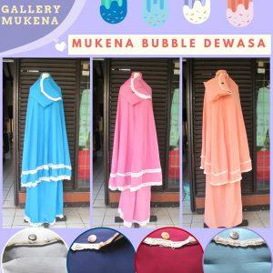 Supplier Mukena Bubble Krep Dewasa Murah di Bandung