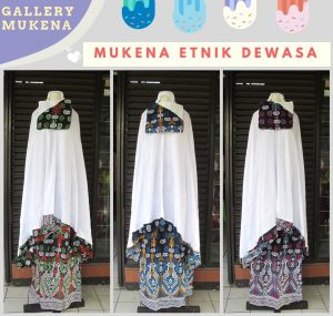 Supplier Mukena Etnik Dewasa Murah di Bandung