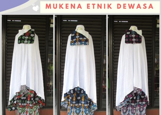 Grosiran Murah di Bandung Reseller Mukena Etnik Dewasa Terbaru Murah di Bandung 65Ribuan