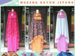 Grosiran Murah di Bandung Supplier Mukena Rayon Jepang Dewasa Murah di Bandung 74.000an