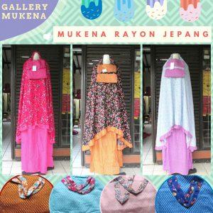 GROSIR PAKAIAN MURAH ONLINE DI BANDUNG Supplier Mukena Rayon Jepang Dewasa Murah di Bandung