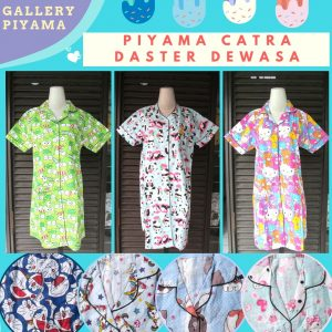 Supplier Piyama Catra Daster Dewasa Murah di Bandung