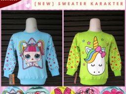 Grosiran Murah di Bandung Produsen Sweater Karakter Anak Terbaru Murah di Bandung 30Ribuan
