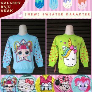 Supplier Sweater Karakter Anak Murah di Bandung