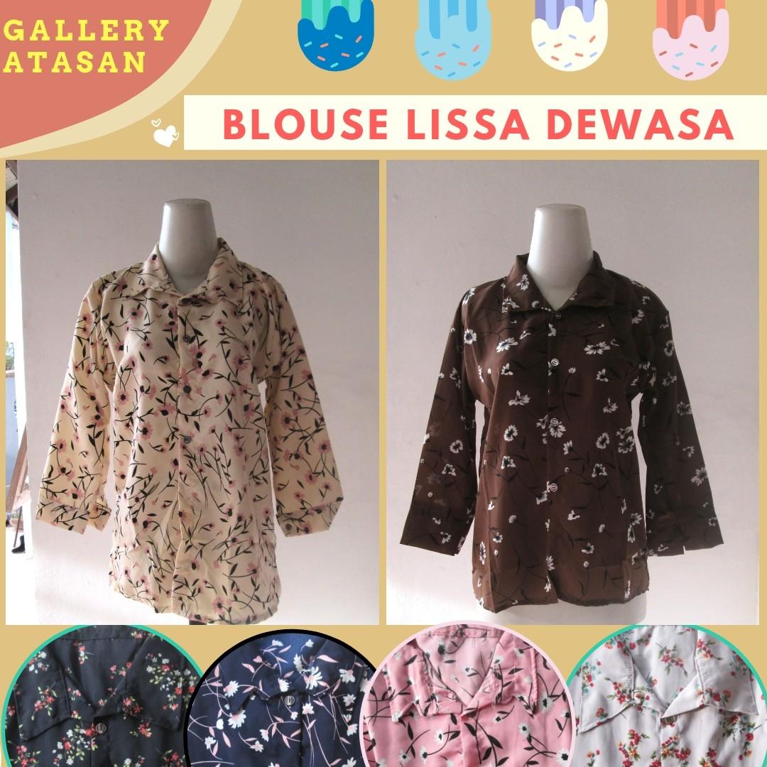 Grosiran Murah di Bandung Supplier Blouse Lissa Wanita Dewasa Murah di Bandung 30Ribuan