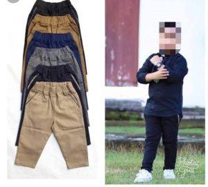 Supplier Celana Chinos Anak laki laki Terbaru Murah di Bandung