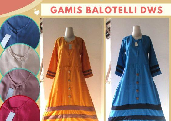 Grosiran Murah di Bandung Produsen Gamis Balotelli Wanita Dewasa Termurah di Bandung 52Ribuan