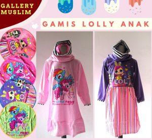 GROSIR PAKAIAN MURAH ONLINE DI BANDUNG Produsen Gamis Lolly Anak Perempuan Murah di Bandung