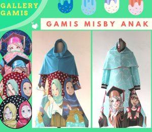 Distributor Gamis Misby Anak Karakter Murah di Bandung