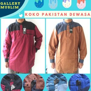 Supplier Baju Koko Pakistan Dewasa Murah di Bandung